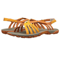 Merrell Enoki Link Yellow Female Sandals for Hiking
