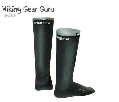 camaro titanium 1mm waterproof socks for hiking