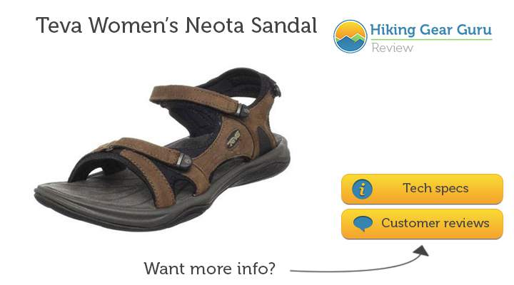 Teva Womens Neota Sandal - contender for best hiking sandals for women in 2014