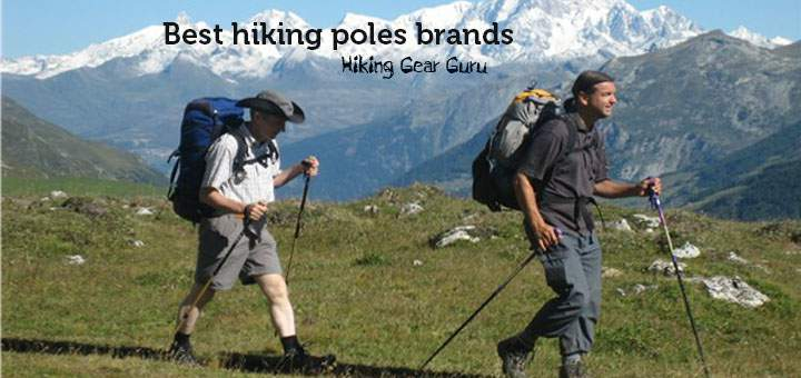Best hiking and trekking pole brands