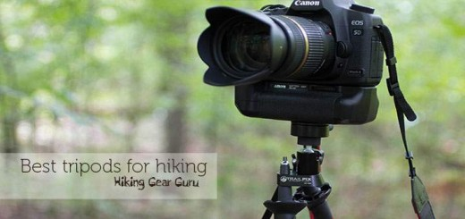best tripods for hiking