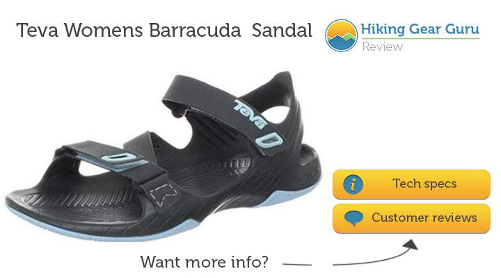 Teva's contender for the best hiking sandals for women in 2014