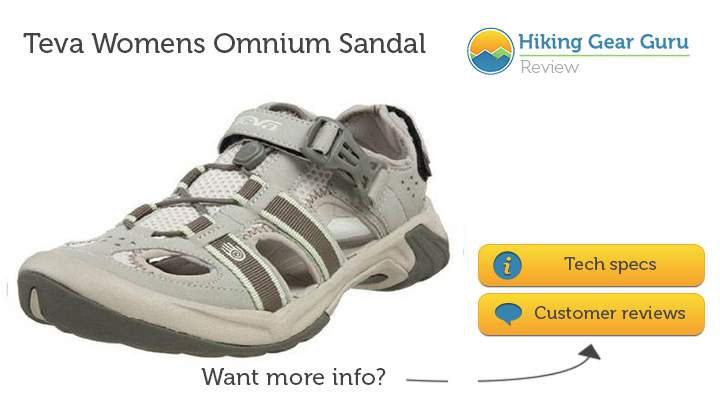 Teva 2nd contender for the best hiking sandals for women in 2014