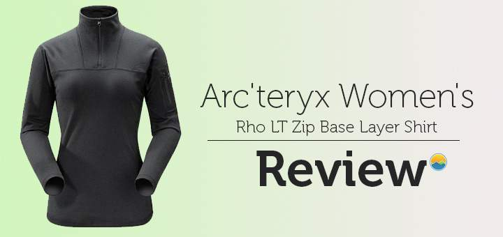Arc'teryx RHO LT Zip – Women's Hiking Base Layer Review