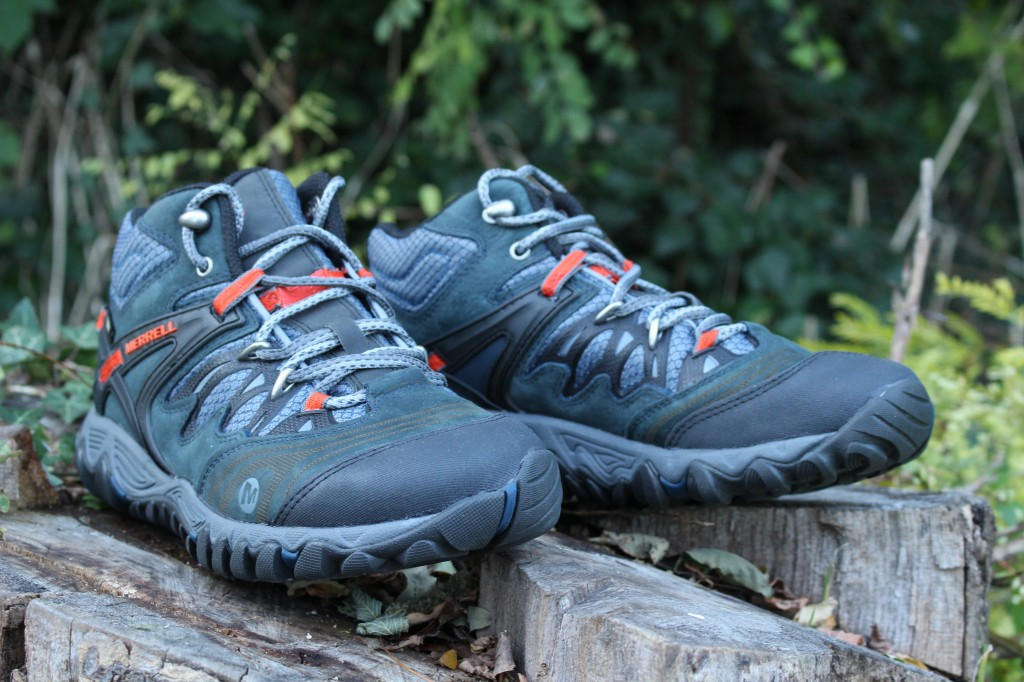 Merrell Womens All Out Blaze Waterproof Hiking Shoe