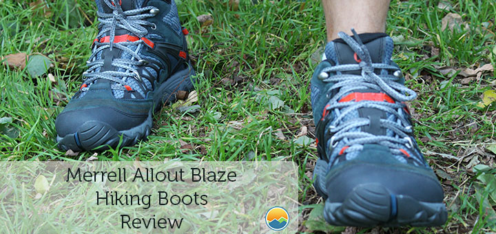 Merrell Allout Blaze hiking boots review