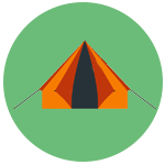 Camping Gear Icon