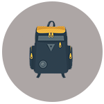 Travel Gear Icon