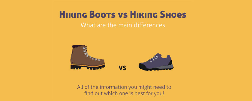 Hiking Boots and Shoes differences cover image