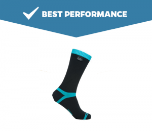 Dexshell Coolvent Mid calf Waterproof Socks Top Performance