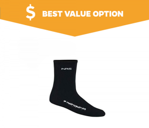 HydroSkin G3 Waterproof Socks for Hiking by NRS 1