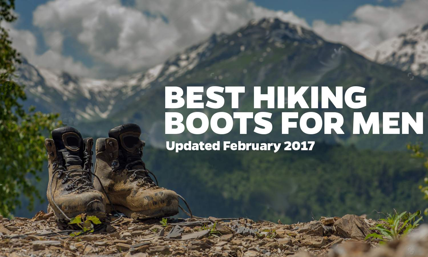 Best Hiking Boots for Men 2017 Cover